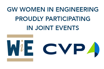 GW WiE and CVP proudly participating in joint events