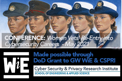 Closing the Gap Conference: Women Vets Re-Entry into Cybersecurity Careers