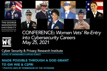 Closing the Gap Conference: Women Vets in Cybersecurity - May 25, 2021