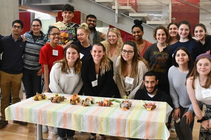 WiE Edible Car Contest Participants